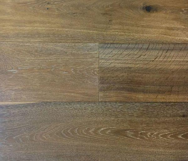 French Oak - Engineered Hardwood - Wire Brushed - CF1011529 - Product Sample