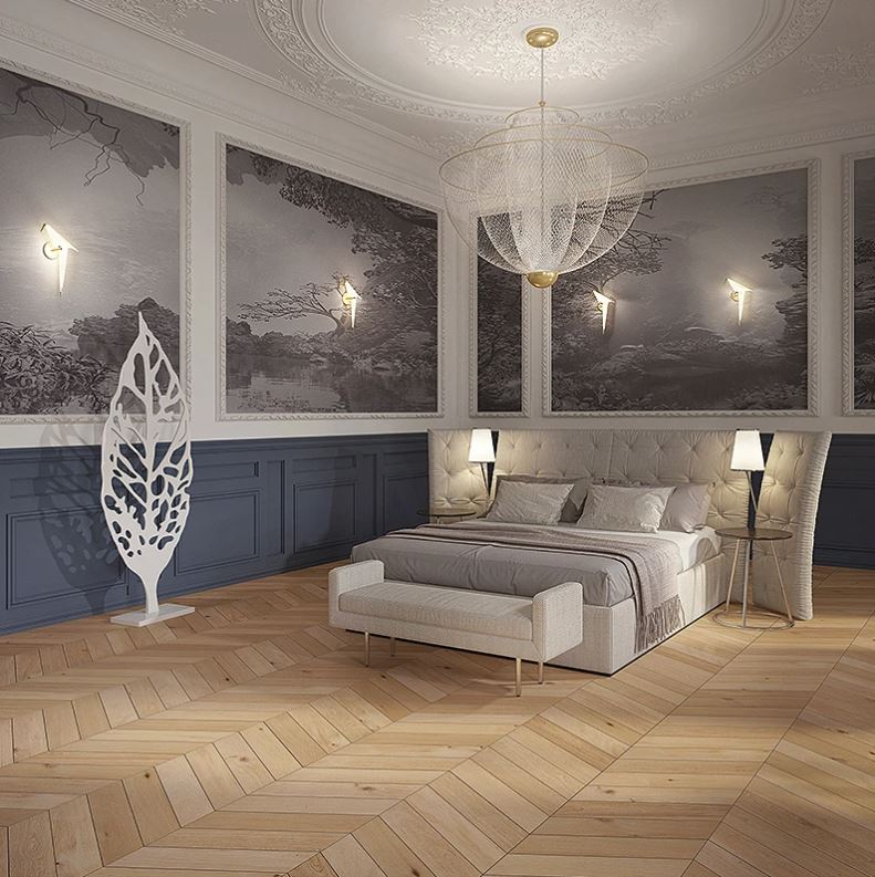 Divine Flooring Chevron Collection